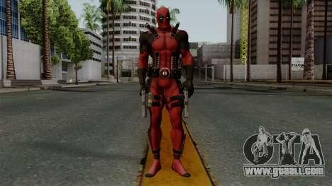 Deadpool for GTA San Andreas second screenshot
