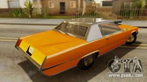GTA 5 Albany Manana for GTA San Andreas back left view