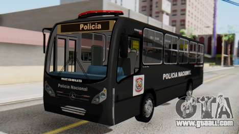 Mercedes-Benz Neobus Paraguay National Police for GTA San Andreas