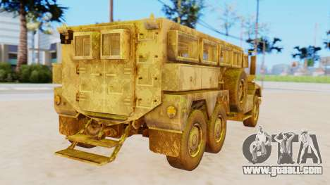 MRAP Cougar from CoD Black Ops 2 for GTA San Andreas left view