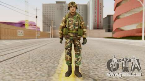 Soldiers of the U.S. army for GTA San Andreas second screenshot