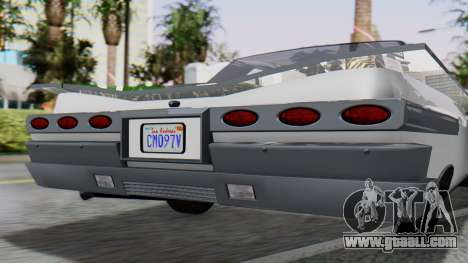 GTA 5 Declasse Voodoo for GTA San Andreas back view