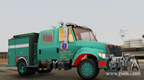 SACFR International Type 3 Rescue Engine for GTA San Andreas right view