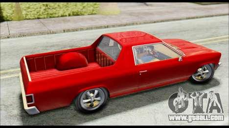 GTA 5 Cheval Picador for GTA San Andreas back left view