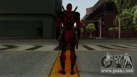 Deadpool for GTA San Andreas third screenshot