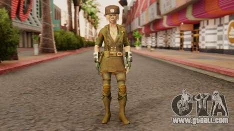 Sonya Motherland [MKX] for GTA San Andreas second screenshot