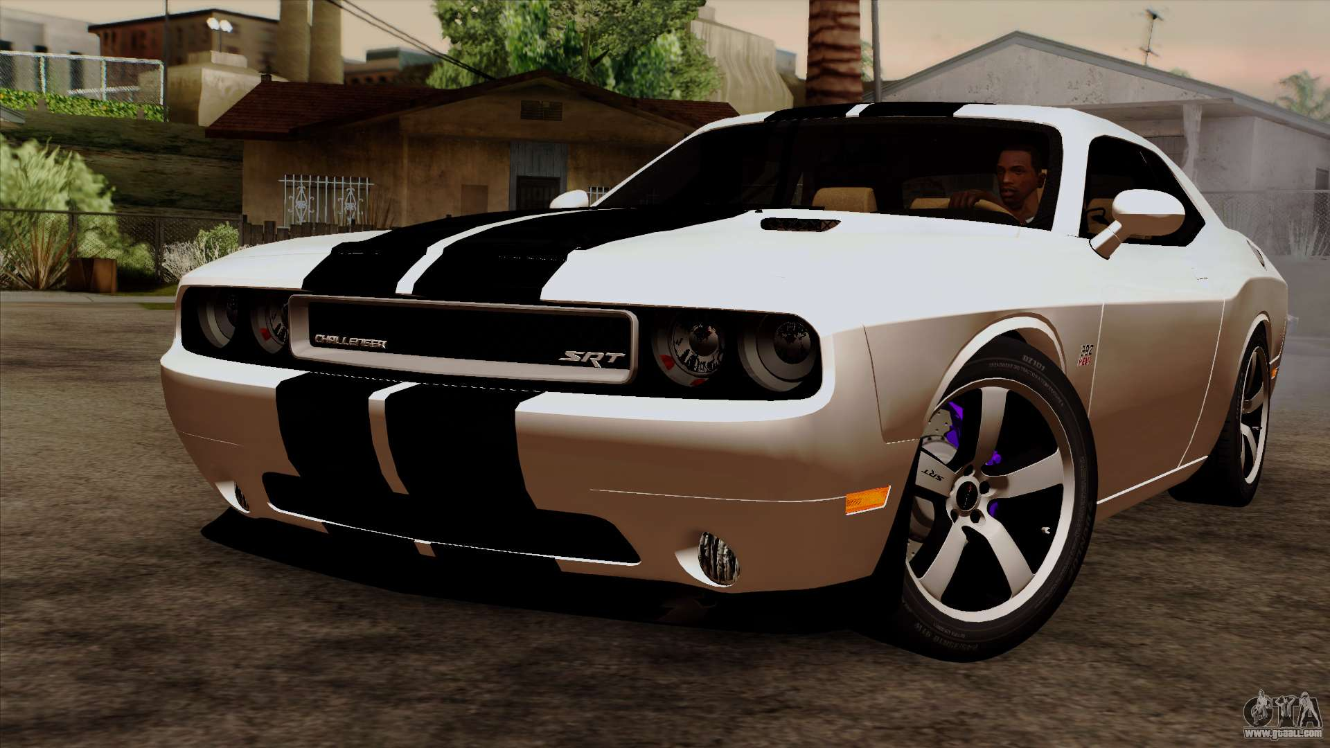 dodge challenger srt8 392 2012 stock version 1 0 for gta san andreas. Black Bedroom Furniture Sets. Home Design Ideas