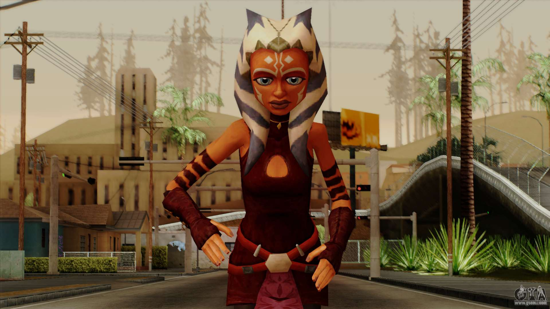 ahsoka tano star wars for gta san andreas. Black Bedroom Furniture Sets. Home Design Ideas