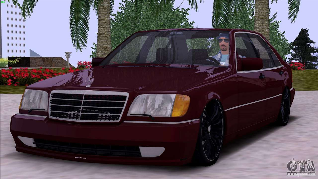 Mercedes benz s600 w140 for gta san andreas for S 600 mercedes benz