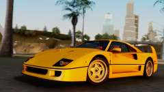 Ferrari F40 1987 without Up Lights for GTA San Andreas