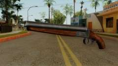 Original HD Sawnoff Shotgun for GTA San Andreas