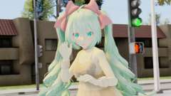 Fluffoughts Miku for GTA San Andreas