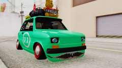 Fiat 126 bis B. O. Construction