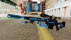 Fulmicotone Sniper Rifle for GTA San Andreas
