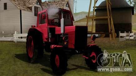 Tractor MTZ80 for GTA San Andreas