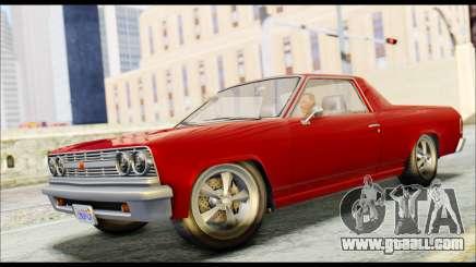 GTA 5 Cheval Picador for GTA San Andreas