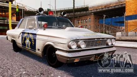 Ford Fairlane 1964 Police for GTA 4