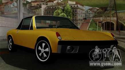 Porsche 914 1970 for GTA San Andreas
