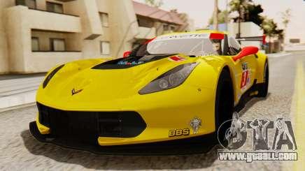Chevrolet Corvette C7R GTE 2014 PJ2 for GTA San Andreas
