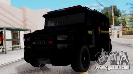GTA 5 Enforcer Indonesian Police Type 1 for GTA San Andreas