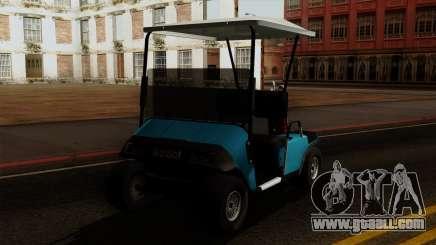 E-Z-GO Golf Cart v1.1 for GTA San Andreas