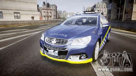 Holden VF Commodore SS Highway Patrol [ELS] v2.0 for GTA 4