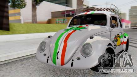 Volkswagen Beetle Vocho Nyan Cat V Mexicano for GTA San Andreas