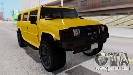 GTA 5 Patriot for GTA San Andreas