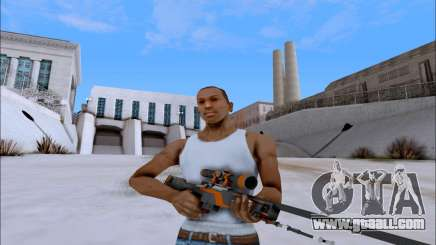 AWP Carbone Edition for GTA San Andreas