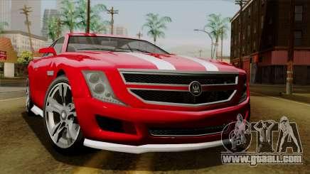 GTA 5 Albany Alpha v2 for GTA San Andreas