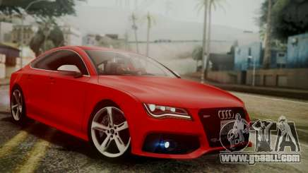 Audi RS7 2014 for GTA San Andreas