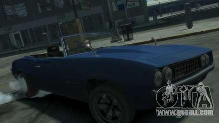 Declasse Vigero Cabrio for GTA 4
