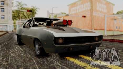 Chevrolet Camaro Drag Street for GTA San Andreas