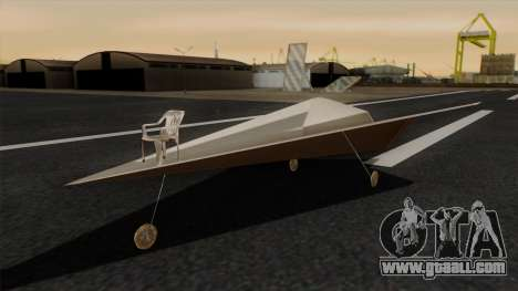Paper airplane for GTA San Andreas