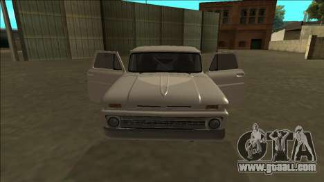 Chevrolet C10 Drift for GTA San Andreas side view
