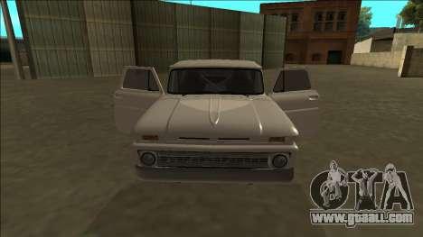 Chevrolet C10 Drift for GTA San Andreas side view