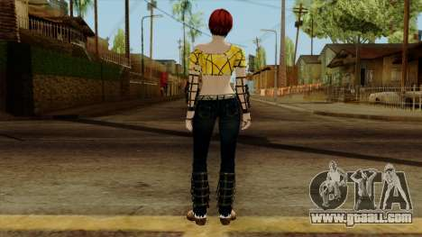 Dead Or Alive 5 Last Round Mila for GTA San Andreas third screenshot