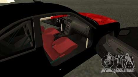 Nissan Skyline R33 Monster Energy for GTA San Andreas back left view