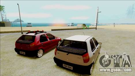 Fiat Palio EDX Turbo Performance for GTA San Andreas left view