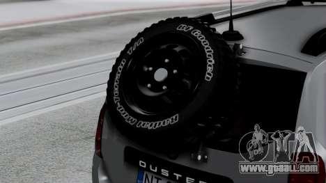 Dacia Duster Terranger 6x6 for GTA San Andreas back view