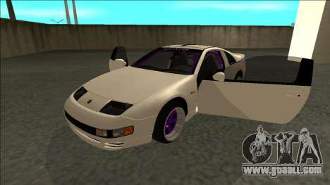 Nissan 300ZX Drift Monster Energy for GTA San Andreas back view