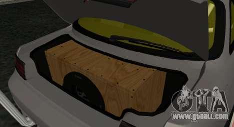 Nissan Silvia S14 JDM v0.1 for GTA San Andreas right view