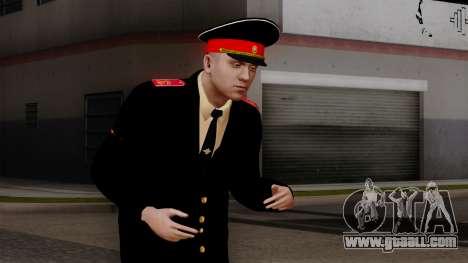 Vice-Sergeant Kazan Suvorov military School v1 for GTA San Andreas