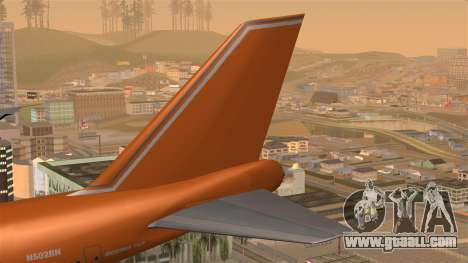 Boeing 747 Braniff for GTA San Andreas back left view