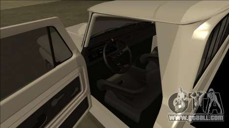 Chevrolet C10 Drift for GTA San Andreas back view