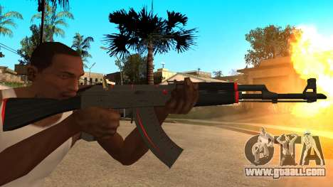 AK-47 Red Line from CS:GO for GTA San Andreas