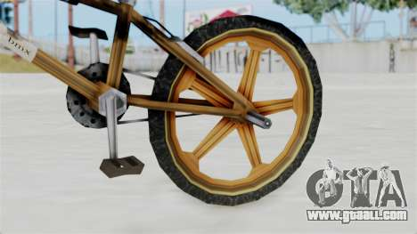 Retro BMX from Bully for GTA San Andreas right view