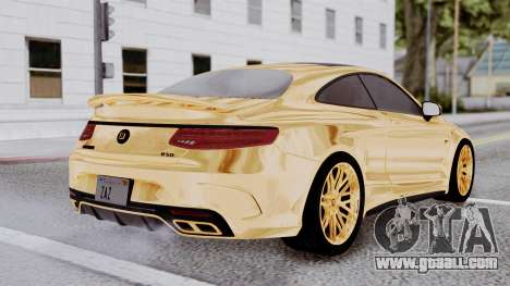 Brabus 850 Gold for GTA San Andreas left view