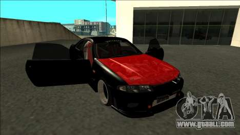 Nissan Skyline R33 Monster Energy for GTA San Andreas side view