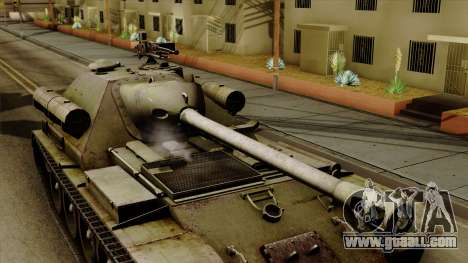 SU-101 122mm from World of Tanks for GTA San Andreas right view